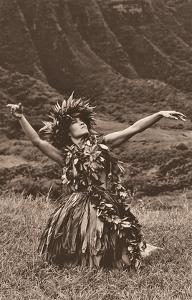 Dance To Pele - Hawaiian Hula by Alan Houghton