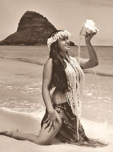 Hawaiian Summer - Mokoliʻi Island (Chinaman's Hat) by Alan Houghton