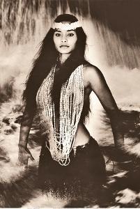 Pele's Sister - Namakaokahai, Hawaiian Sea Goddess by Alan Houghton