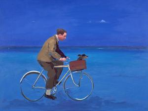 Cyclist, 2005 by Alan Kingsbury
