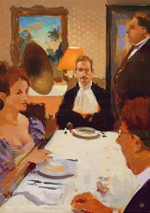 Le Gourmand Isole, 2003-04 by Alan Kingsbury