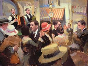 Paris Bal Musette, 2003 by Alan Kingsbury