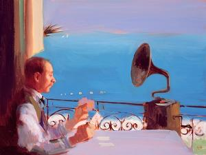 Puccini Blue, 2005 by Alan Kingsbury