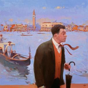 Return to San Giorgio, 2005 by Alan Kingsbury