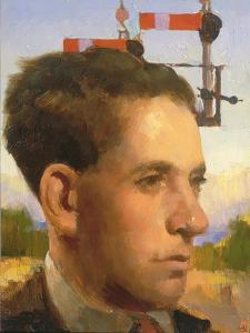 Signalman, 1994 by Alan Kingsbury