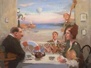 Tea Dancing, 2004 by Alan Kingsbury