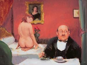 Teatime Interior, 2004-05 by Alan Kingsbury