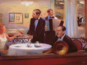 The Accordionist, 2005 by Alan Kingsbury