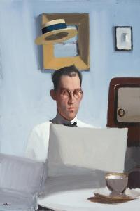 The Arrival of the Internet, 2009 by Alan Kingsbury