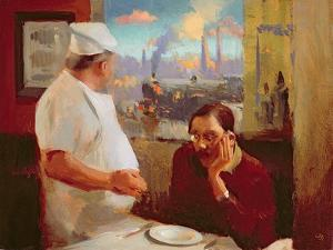 The Station Restaurant, 2004 by Alan Kingsbury