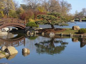 Hyde Park Neighborhood, Osaka Japanese Garden in Jackson Park, Chicago, Illinois, Usa by Alan Klehr