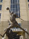 Michael Jordan statue at the United Center, Chicago, Illinois, USA-Alan Klehr-Photographic Print