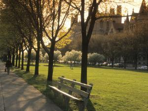 Midway Plaisance at University of Chicago, Chicago, Illinois, USA by Alan Klehr