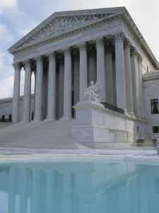 Supreme Court and Pool, Washington DC, USA by Alan Klehr