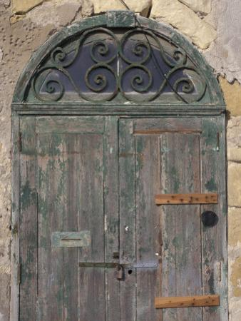 Weathered old door, Valletta, Malta by Alan Klehr