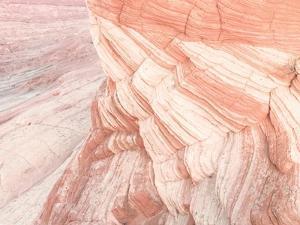 Coyote Buttes VII Blush Orange Crop by Alan Majchrowicz