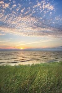 Lake Michigan Sunset I by Alan Majchrowicz