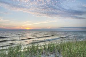 Lake Michigan Sunset III by Alan Majchrowicz