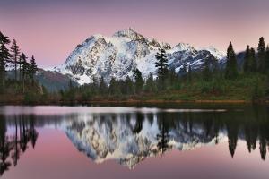 Mount Shukan Reflection II by Alan Majchrowicz