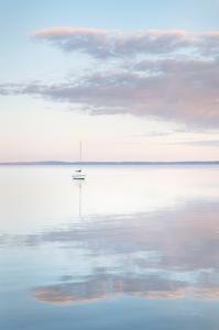 Sailboat in Bellingham Bay II by Alan Majchrowicz