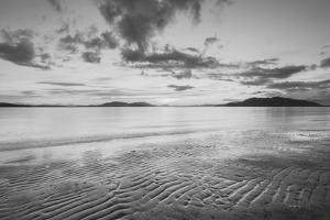 Samish Bay Sunset II BW by Alan Majchrowicz