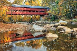 Swift River Covered Bridge by Alan Majchrowicz