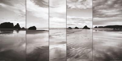 Tides on Bandon Beach