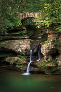 Upper Falls Old Mans Cave by Alan Majchrowicz