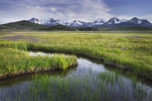USA, Idaho. Sawtooth Mountains. by Alan Majchrowicz