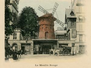 Le Moulin Rouge by Alan Paul