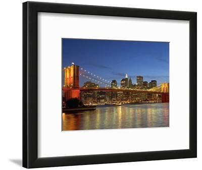 Brooklyn Bridge and East River