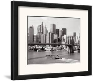 Brooklyn Bridge and Manhattan Skyline by Alan Schein