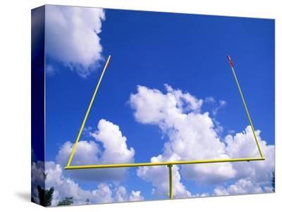 Football Goal Posts Against Sky