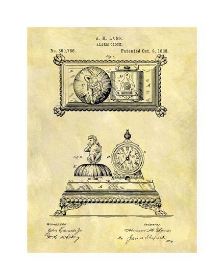 Alarm Clock, 1888-Dan Sproul-Giclee Print