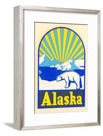 Alaska Decal, Polar Bear