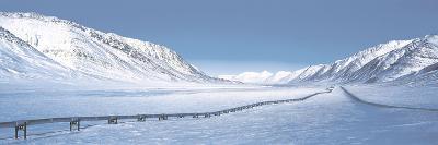 Alaska Pipeline Brooks Range AK--Photographic Print