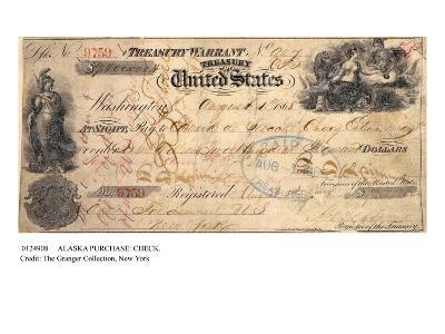 Alaska Purchase: Check--Giclee Print