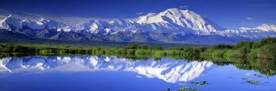 Alaska Range, Denali National Park, Alaska, USA--Photographic Print