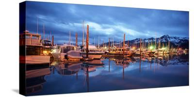 Alaska USA X--Stretched Canvas Print