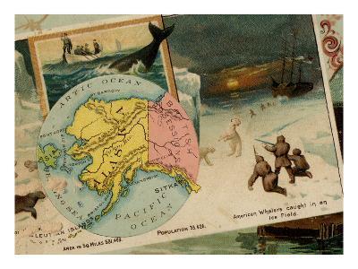 Alaska-Arbuckle Brothers-Art Print