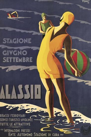 Alassio--Giclee Print