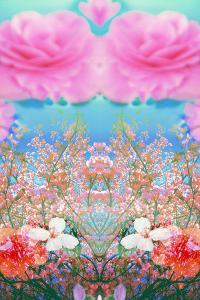 A Floral Montage of Flowers and Trees by Alaya Gadeh