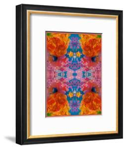 A Floral Montage, Symmetric Layer Work from Blooming Flowers by Alaya Gadeh