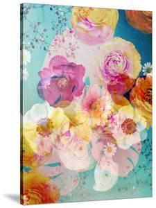 A Floral Montage with Blossoms and Ornaments from Spring Knots by Alaya Gadeh
