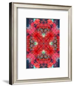 A Mandala Ornament from Flower Photographs, Conceptual Layer Work by Alaya Gadeh