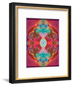 A Mandala Ornament from Flowers and Drawings by Alaya Gadeh