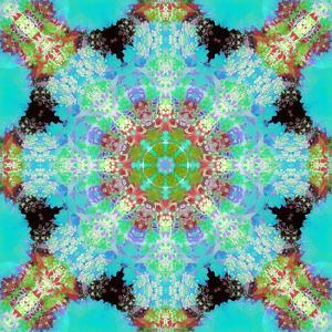 A Symmetric Ornament from Flowers, Photograph, Layer Work by Alaya Gadeh