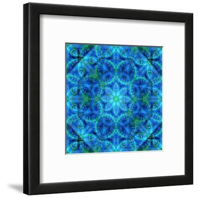 Blue Diamond Mandala
