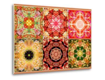 Collage of Flowers Mandalas, Composing