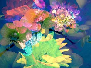 Colorful Translucent Layer Work from Orchid and Dahlia by Alaya Gadeh